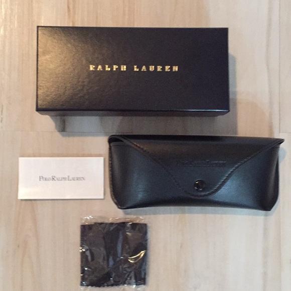 Ralph Lauren Polo Glasses Case soft faux leather
